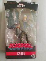 Marvel Legends Deadpool series figure loose no BAF Domino Paladin grey/gray var.