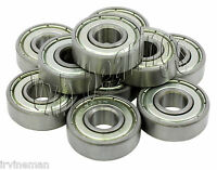 "Lot 10 Ball Bearings R6 ZZ 3/8"" x 7/8""inch R6ZZ R6Z Z"