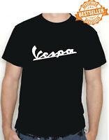 VESPA T-shirt S/M/L/XL/XXL Great Retro Birthday Gift Choose colour / Size NEW