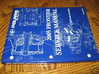 2005 Polaris Frontier Touring Snowmobile Factory Service Manual_NEW! +oem cd