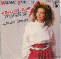 Melanie SANDERS - Wenn ich träume / Rare Single 80er