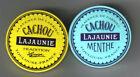 2 Boîtes serties CACHOU LAJAUNIE TRADITION / MENTHE