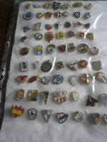Lote de 10000 insignias, pins de equipos fútbol España