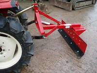 6ft SHOP SOILED  SNOW PLOUGH FOR COMPACT TRACTOR / PUSH OR PULL