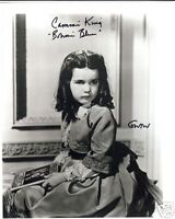 GONE WITH THE WIND personally signed 10x8 - BONNIE BLUE - CAMMIE KING