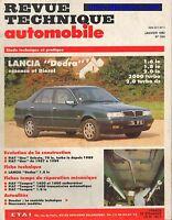 REVUE TECHNIQUE AUTOMOBILE #535 LANCIA DEDRA E & S  RTA