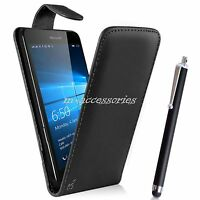BLACK FLIP PU LEATHER CASE COVER POUCH FOR SAMSUNG GT-S3350 CHAT CH@T 335  + SP