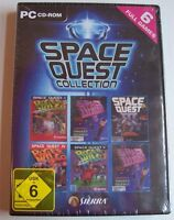 Space Quest 1,2,3,4 ,5,6 Collection  - Win XP/Vista
