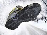 Anti Slip Shoe Grips, Ice Cleats, Spikes & Snow Gripper