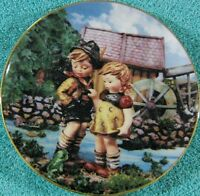 Hello Down There By M.J. Hummel from Danbury Mint Collector Plate
