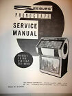 Seeburg Models SX  100, ESX 100-5, ESX 100-H5 Jukebox Manual
