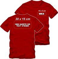 Textildruck T-Shirt Druck  T-Shirt bedrucken  T-Shirt selbst gestalten.