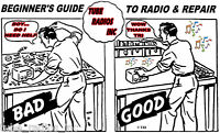BEGINNERS GUIDE TO RADIO & REPAIR - A  DIY Instructional guide for the  Novice