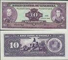 VENEZUELA billet neuf 10 BOLIVARES Pick61d MONUMENT BATAILLE DE CARABOBO 1995