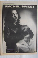 1980 - RACHEL SWEET - Protect The Innocent - Press Advertisment - Poster Size