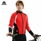 Sobike Cycling Fleece Thermal Long Jersey Wind Coat Winter Jacket-Aurora Red New
