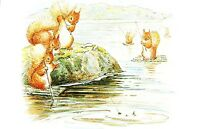 (08909) Postcard - Squirrel Nutkin - Beatrix Potter - unposted