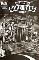 1:10 variant ROAD RAGE throttle 3 1st print STEPHEN KING JOE HILL IDW COMIC BOOK