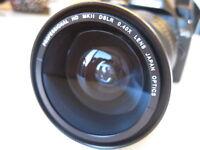 Wide Macro Fisheye Lens FOR Canon EOS Rebel T2 T2i T3 T3i T1i  XT XTi XS XSi T1
