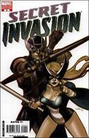1:50 variant SECRET INVASION #2 1st print MARVEL COMIC HAWKEYE CAPTAIN AMERICA