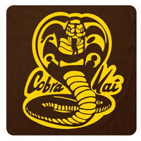 """COBRA KAI"" 80's Karate Kid RETRO T-Shirt. Super-Soft Cotton Graphic Movie Tee!"
