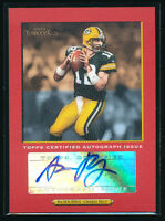 1/1 AARON RODGERS 2005 TOPPS TURKEY RED PARALLEL EDITION AUTO RC JERSEY # 12/50
