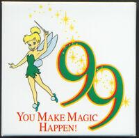 1999 Disney Button  99 You Make Magic Happen  Cast Member