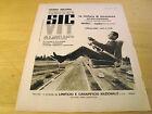 PUBBLICITA' ADVERTISING WERBUNG 1964 SIC VIT CINTURE SICUREZZA