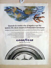 PUBBLICITA' ADVERTISING WERBUNG 1971 GOODYEAR PNEUMATICI