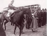 Queen Elizabeth II - Horseracing, Epsom, Lester Piggott
