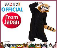 """The Official Sazac Kigurumi Pajamas """"Red Panda"""" Kigurumi Costume Cosplay Pajama"""