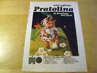 PUBBLICITA' ADVERTISING WERBUNG 1971 PRATOLINA BAMBOLA GIG a