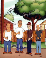 KING OF THE HILL SIGNED BY VOICES PHOTO PRINT 01
