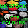 PEARL FROSTED GLASS BEADS SEEDS 10 GR LOVELY COLOURS GREAT VALUE <<UK STOCK>>