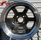 15X8 +0 ROTA GRID-V 4X114.3 ROYAL GUN METAL WHEEL Fits Mazda Rx7 Falcon Comet