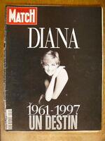 Paris-Match Diana 1961-1997 Un destin - numéro spécial 11 septembre 1997