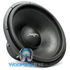 "ZVX-18 SKAR AUDIO 18"" DUAL 1-OHM SUB 3000W MAX COMPETITION SUBWOOFER SPEAKER NEW"