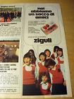 PUBBLICITA' ADVERTISING WERBUNG 1980 PALLINA ZIGULI a