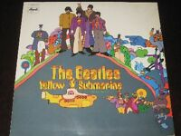 The Beatles rare '69 German EXPORT to Sweden LP Yellow Submarine EX++
