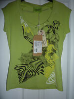 OXBOW Light Green Ayala ARTWORKS T-Shirt RRP £33.00 NWT