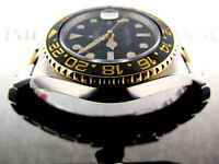 ROLEX GMT MASTER II 2 TONE 18K YELLOW GOLD & SS 116713