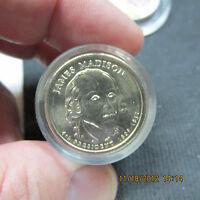 2008 James Madison Danbury Mint Roll of 12 BU Coins