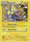 Manectric 44/124 DRAGONS EXALTED English cards (carte Pokemon Stirpe dei Draghi)