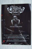 BULLET FOR MY VALENTINE - The Poison + UK Tour - 2006 Magazine Advert Poster