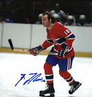 GUY LAFLEUR MONTREAL CANADIENS HALL OF FAME AUTOGRAPHED 8X10 #4