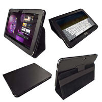 Black PU Leather Case for Samsung Galaxy Tab 10.1 3G & WiFi P7510 Android Cover