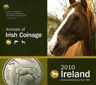IRLANDE Coffret BU 2010 Animaux des monnayage Irlandais; le cheval