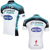 Vermarc Omega Pharma Short Sleeved Tom Boonen Cycling Jersey 2013