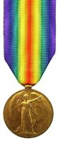 WW1 BRITISH VICTORY MEDAL TO 4004.PTE.P.J.DONOVAN.MIDD.X.R
