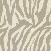 NEW LUXURY ZINC SILK TEXTURE ZEBRA SAVANNAH PRINT WALLPAPER 10M ROLL DECOR ART